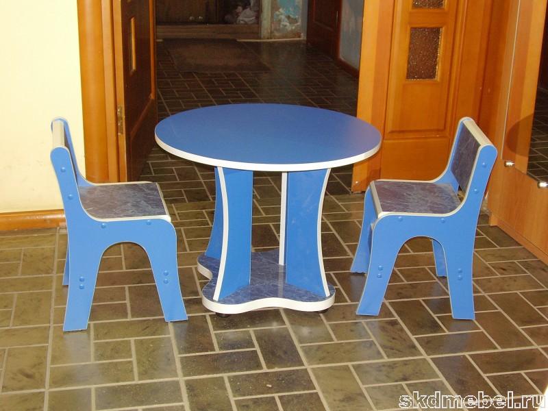 Детский обеденный столик своими руками