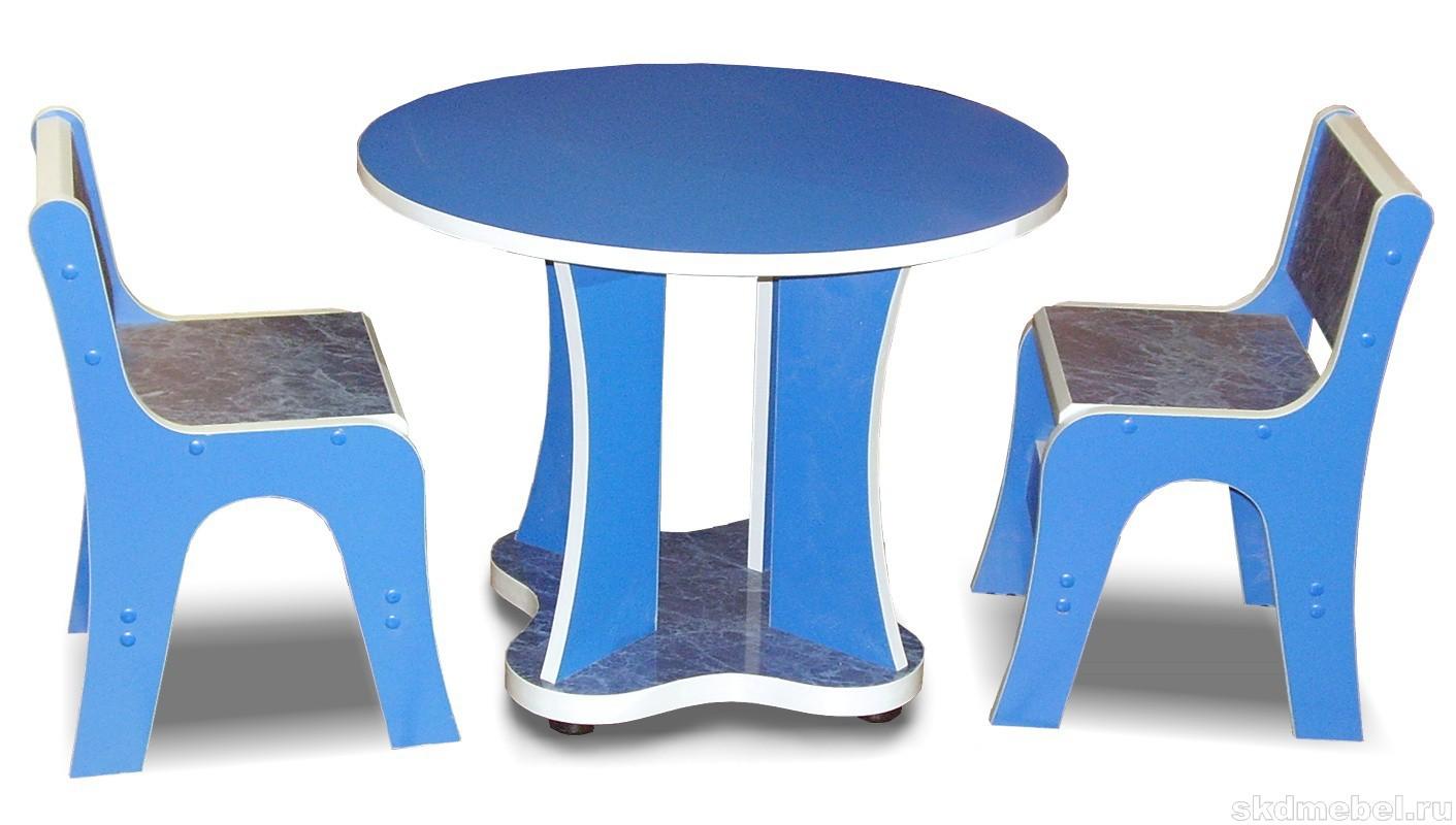 Стол детский круглый - производство мебели - мебельная компа.